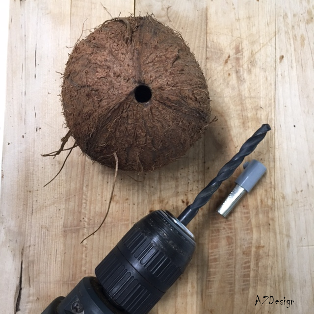 coconut lamp by AZDesign