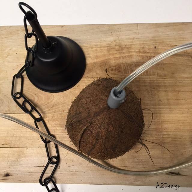 coconut lamp by Andok Zsuzsanna
