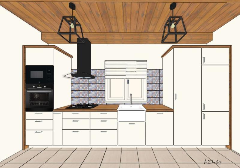 Balatonszárszó konyha látványterv