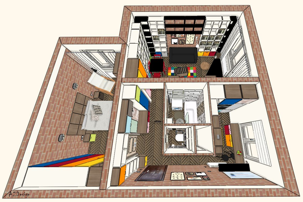 lakás látványterv