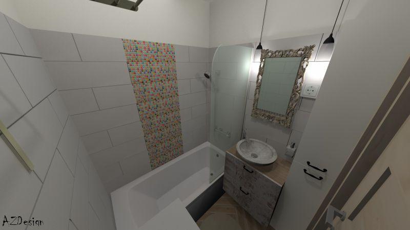 lakás látványterv fürdő