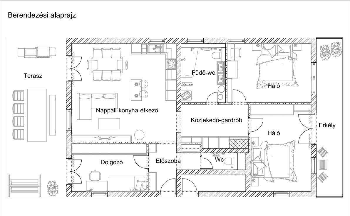 Budapesti ház alaprajz