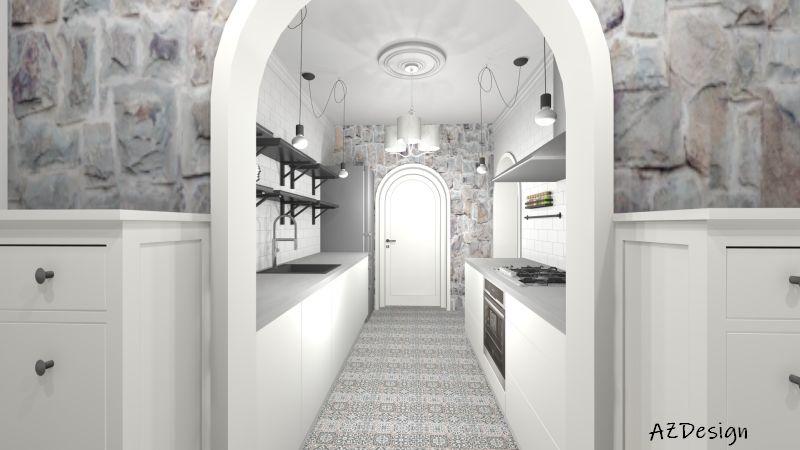 látványterv konyha
