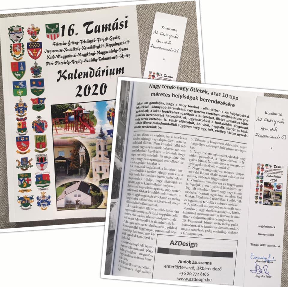 Tamási Kalendárium