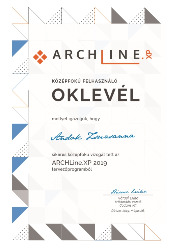 ArchLine-kozepfokuvizsgaHU